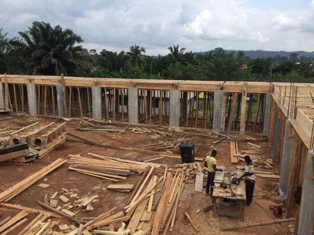 Enchi, Ghana new church progress