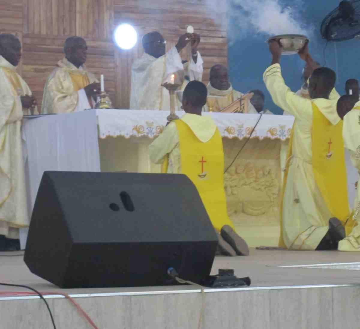Immaculate Conception Catholic Church in Enchi, Ghana
