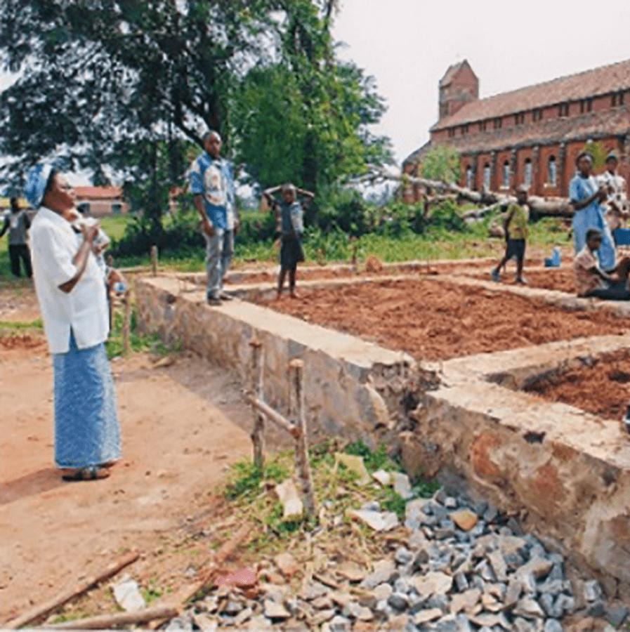 DR Congo orphanage construction