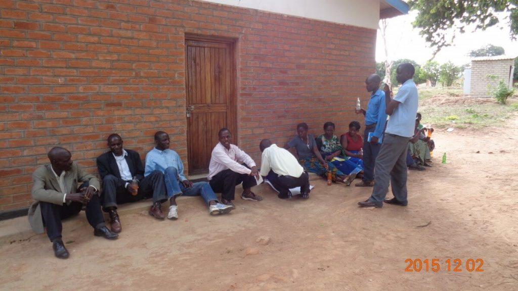 Group Discussions at Parish in Malawi