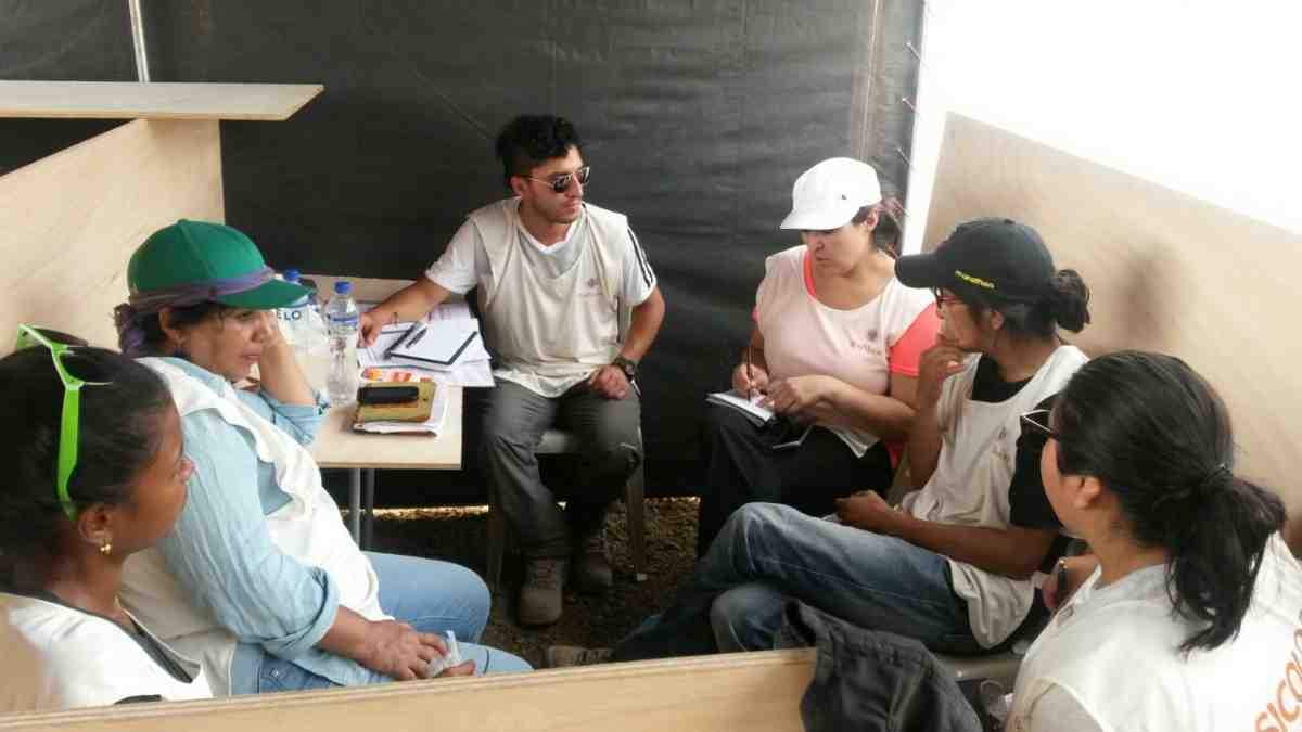 Ecuador earthquake evaluation meeting