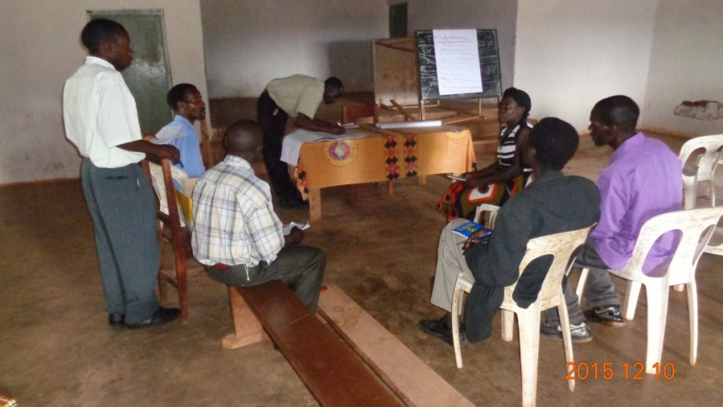 Discussion among Catholic Priests in Malawi