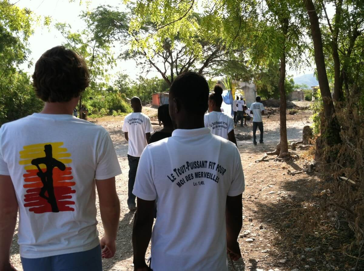 Young Catholic Missionaries in Haiti