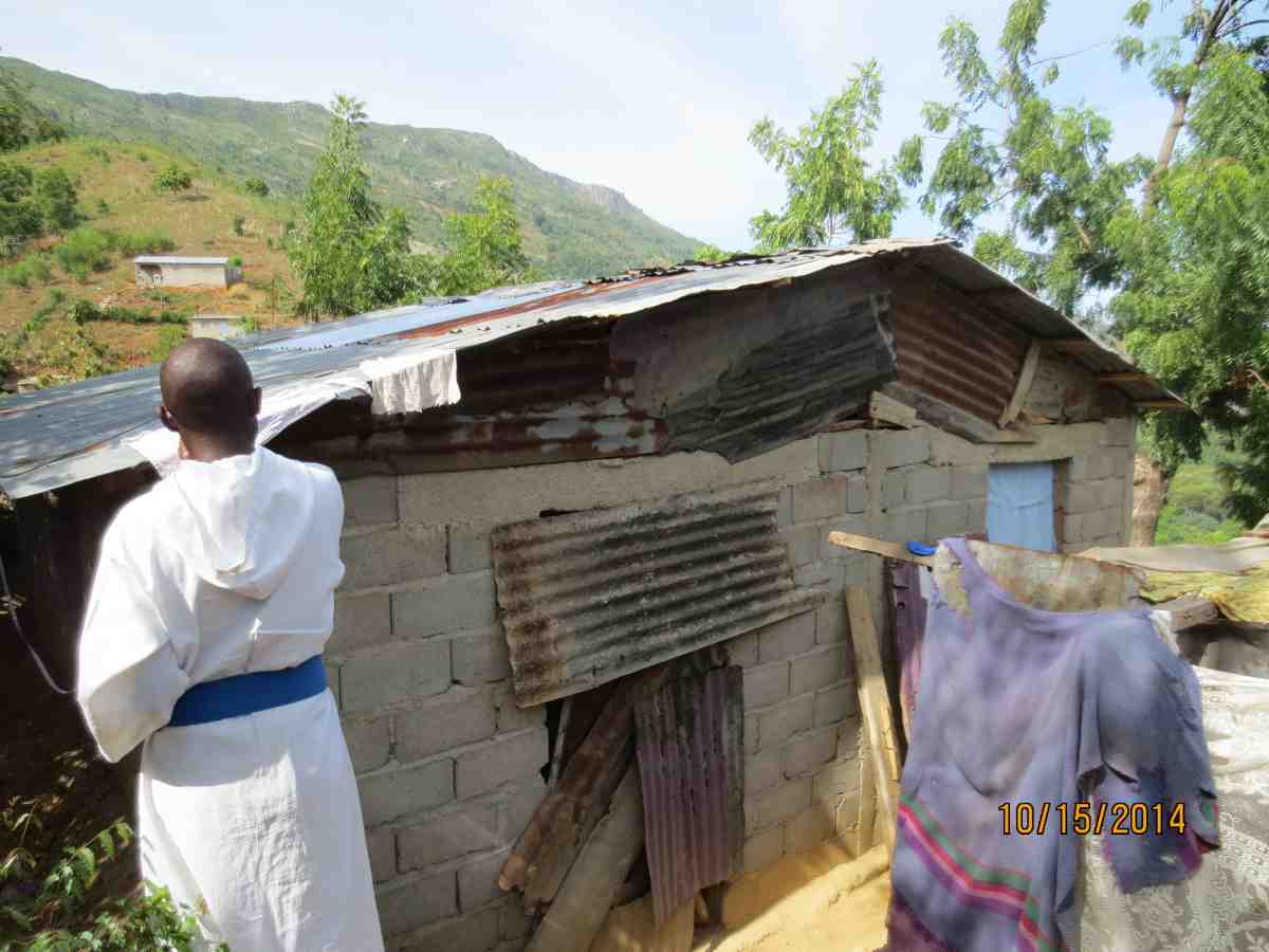 Building homes in Haiti