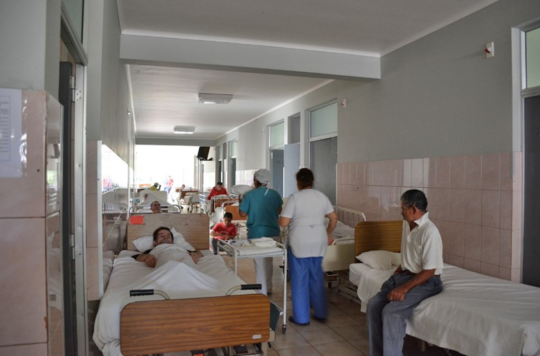 Hospital rooms in Chile