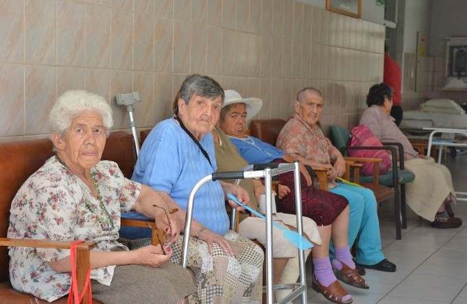 Older patients in Chile hospital