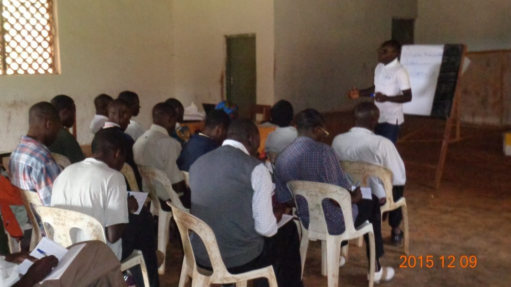 Training Session for Catholic Lay Missionaries in Malawi