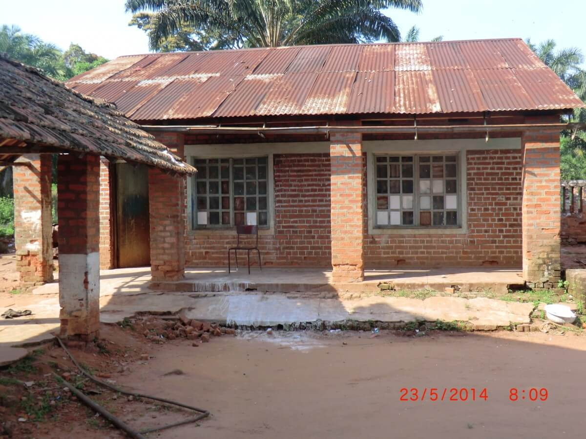 damages to orphanage in DR Congo