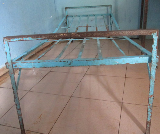 old beds that were replaced in Haiti care home