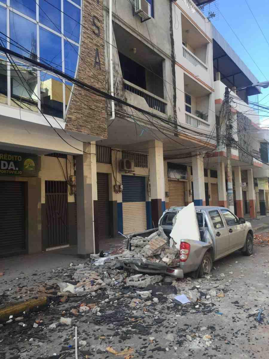 Ecuador earthquake effects