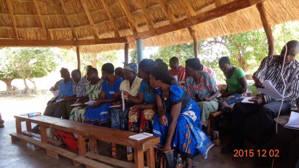 Women attending Catholic Lay Missionary Training in Malawi