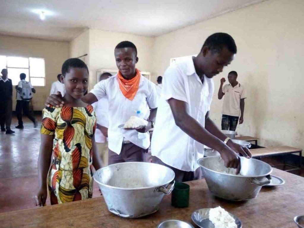 Help feed students in Tanzania