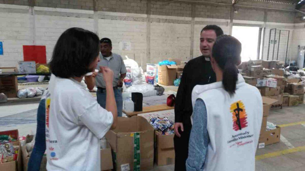 Ecuador earthquake response team