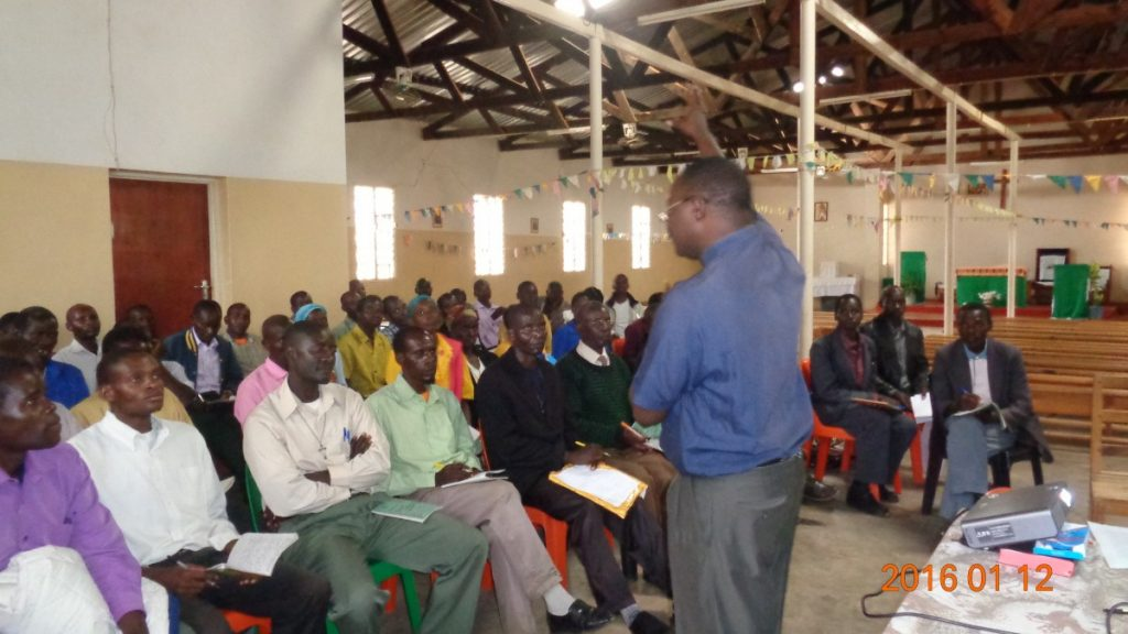 Catholic Lay Misionary Training Session in Malawi