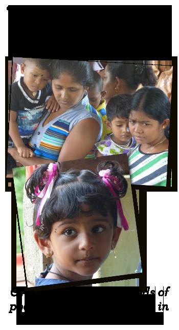 Poor Families in Sri Lanka