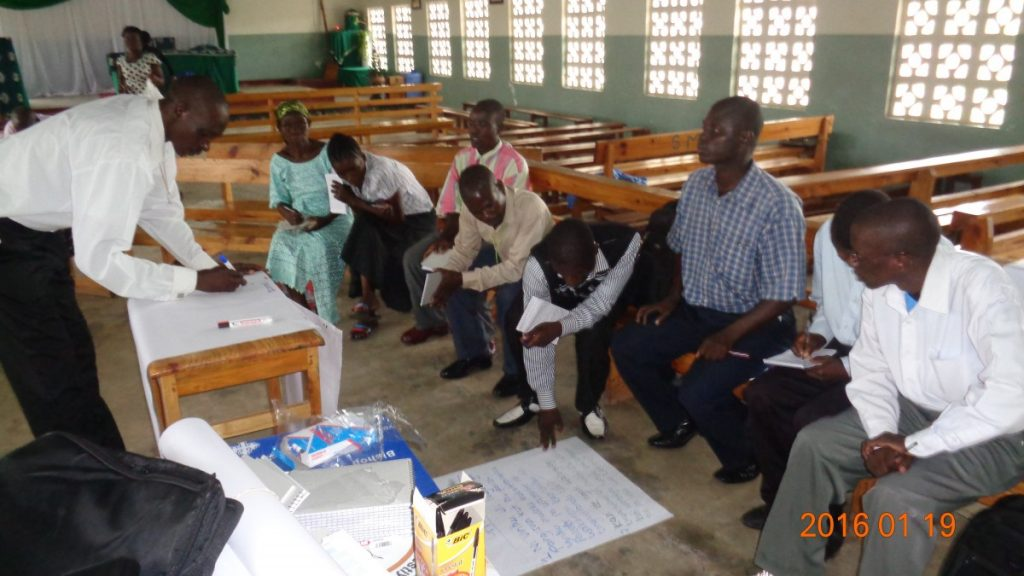 Group Discussion among Catholic Missionaries in Malawi