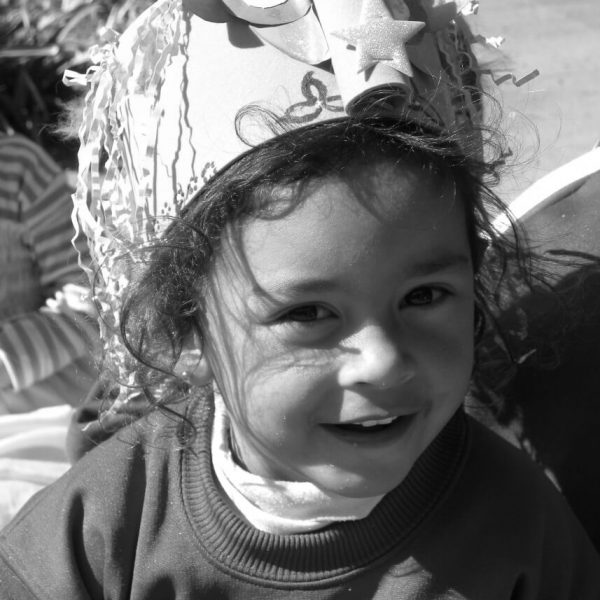Kindergarten student in Argentina