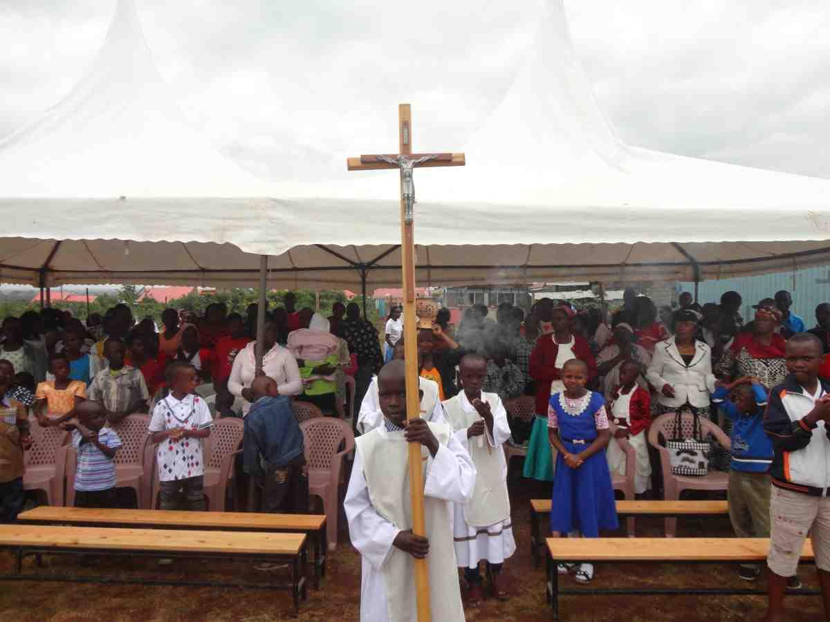 Eucharistic celebration for Christmas in Kenya