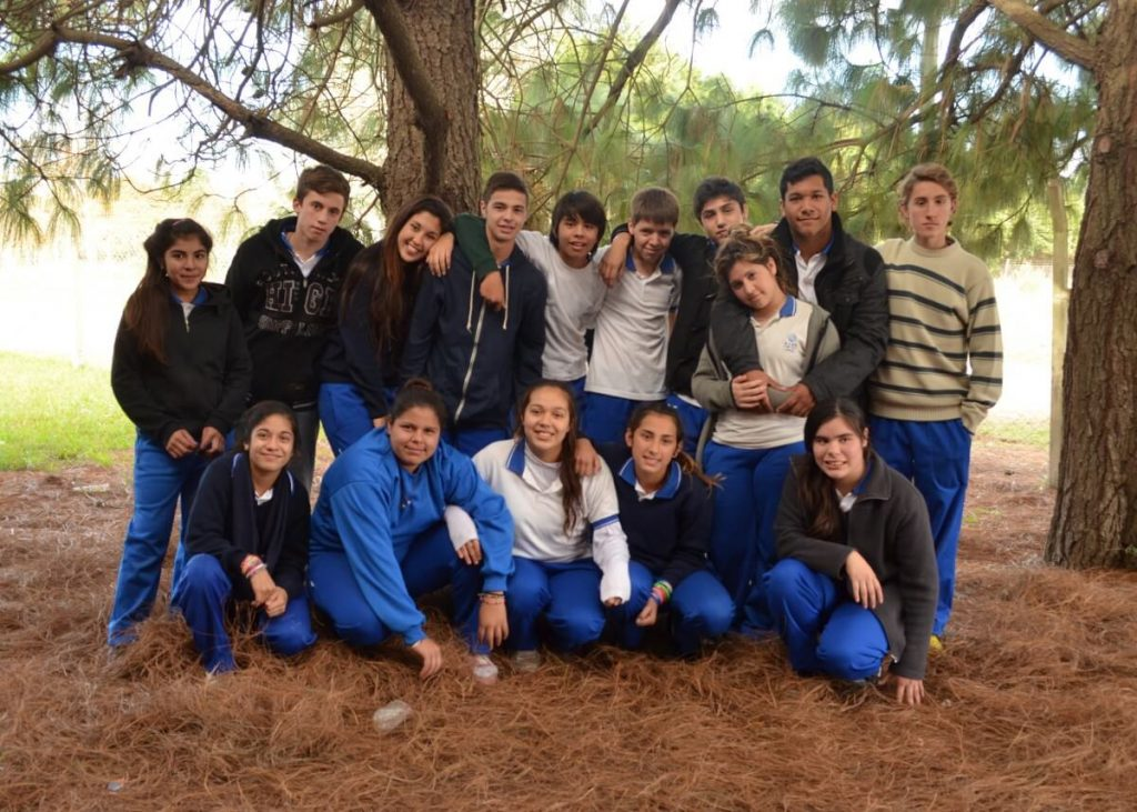 Argentina high school students