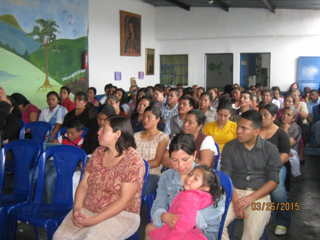 Mano Amiga Guatemala students and parents