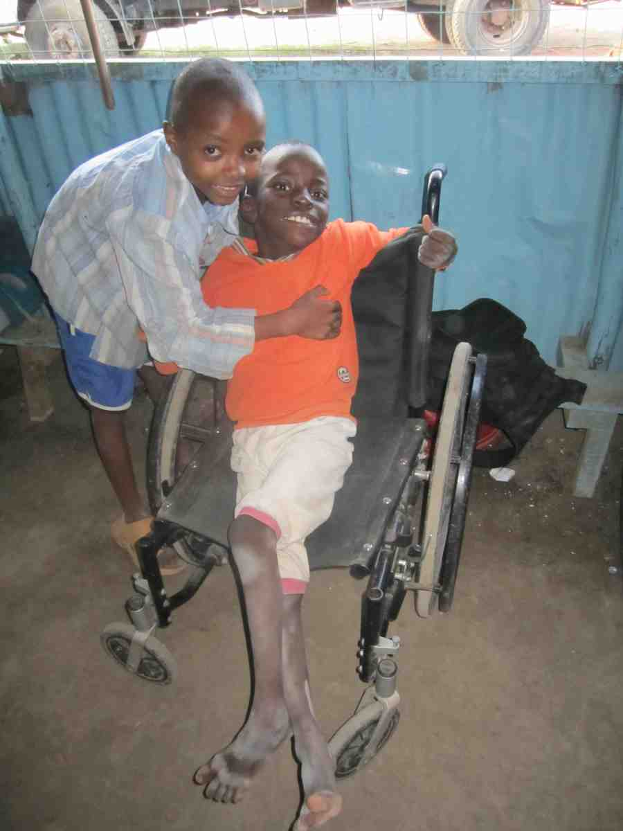 Disabled Oprhans being cared for in Catholic Community in Kenya