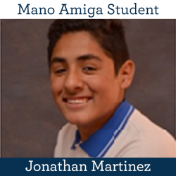 Student Jonathan Martinez