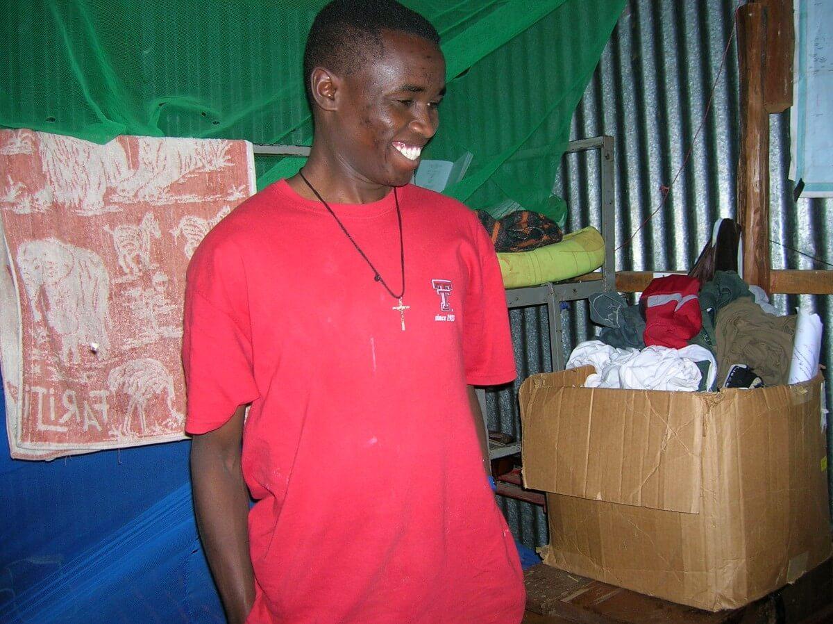 Kenyan in Catholic Community
