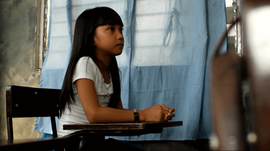 mano amiga philippines student learning in classroom