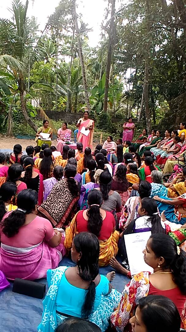 training seminar for women in India