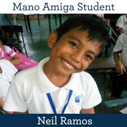 Mano Amiga Student Neil Ramos
