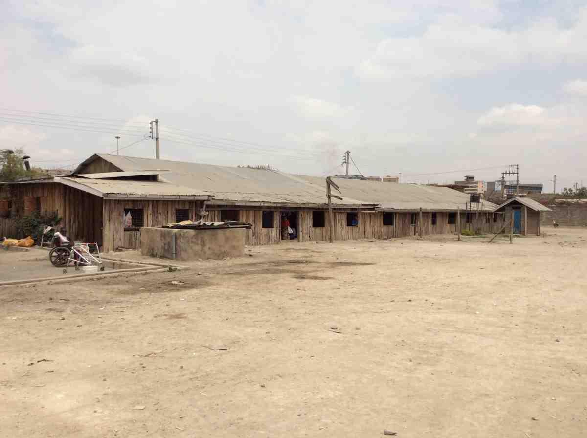 Old multi-purpose building in Kenya