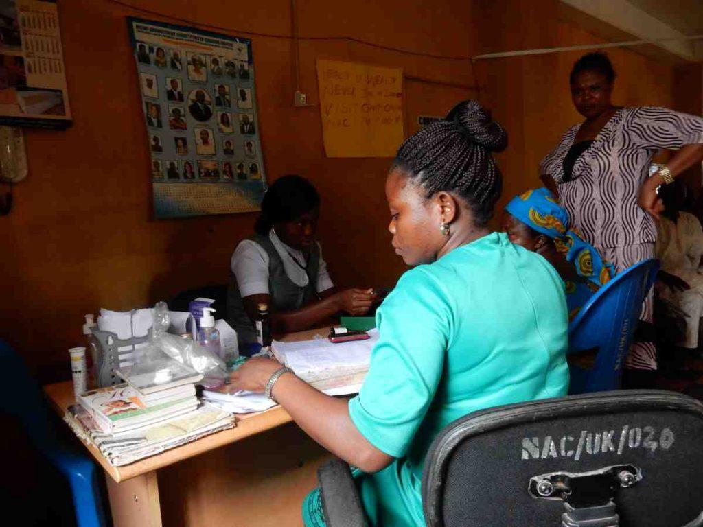 Medical Mission worker in Nigeria