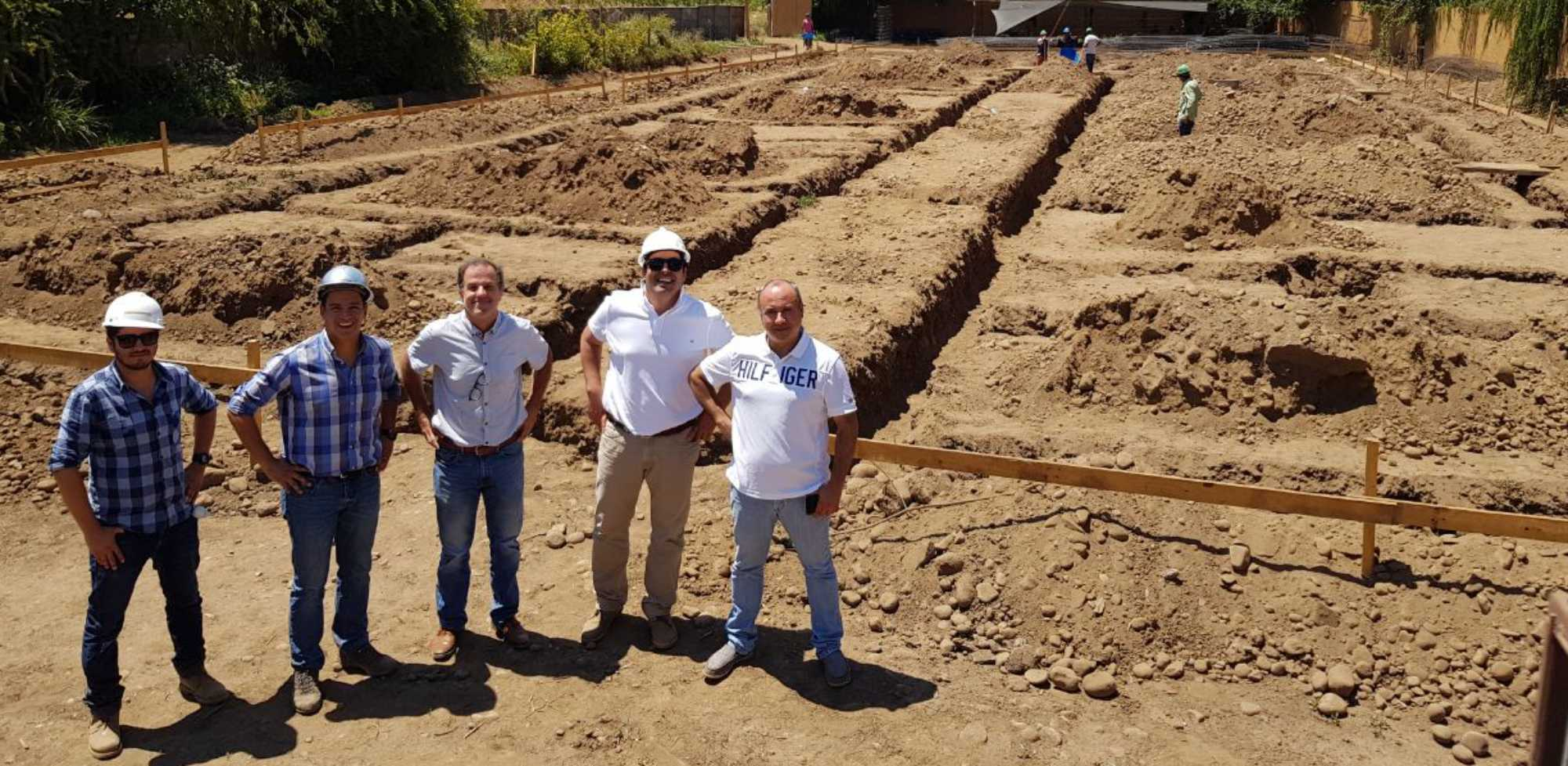 Building a church in Chile