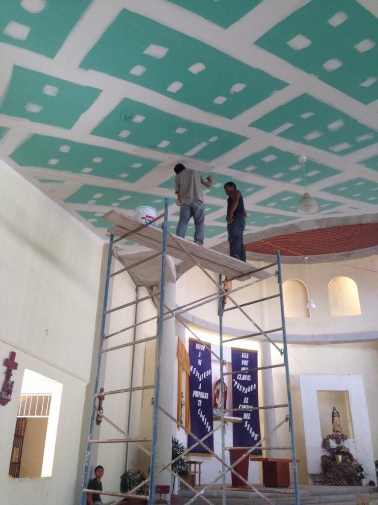 Renovation Mayan Chapel - Mexico