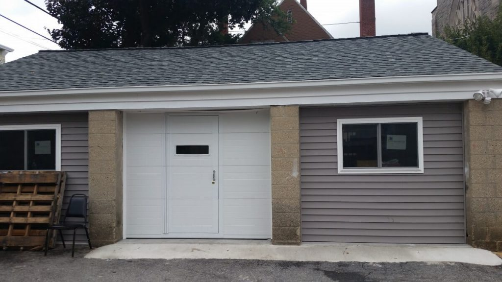 Finished food pantry exterior