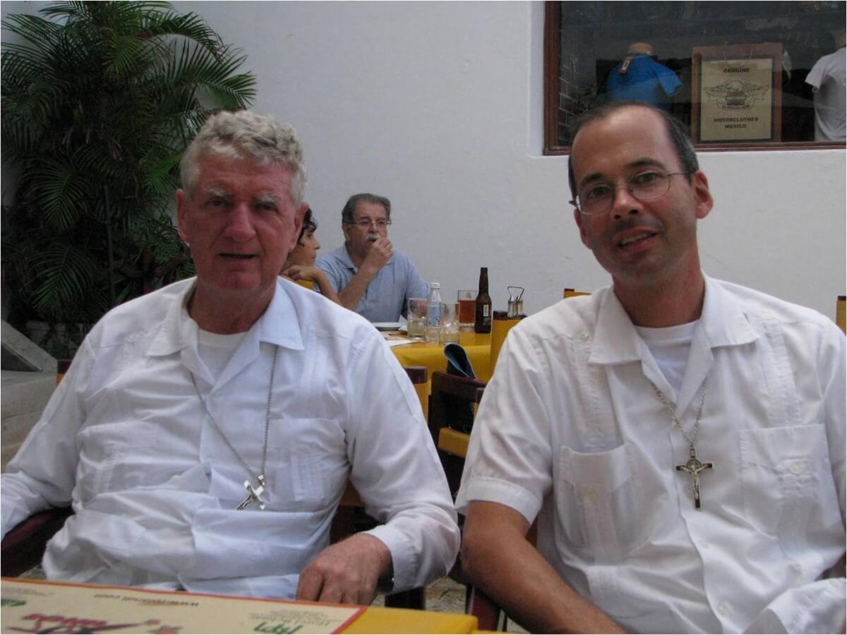 Catholic priests helping community in Mexico