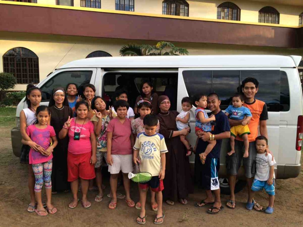 The sisters' new van - Philippines