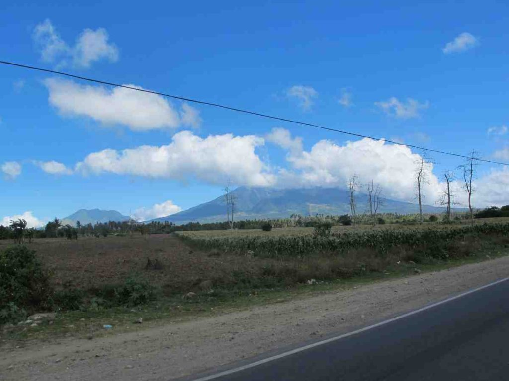 Journey in the van to Naga City - Philippines