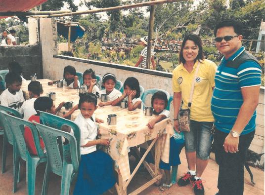 Lonoy Students in Capiz - Philippines