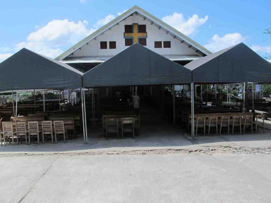 Maribojoc Temporary Church - Philippines