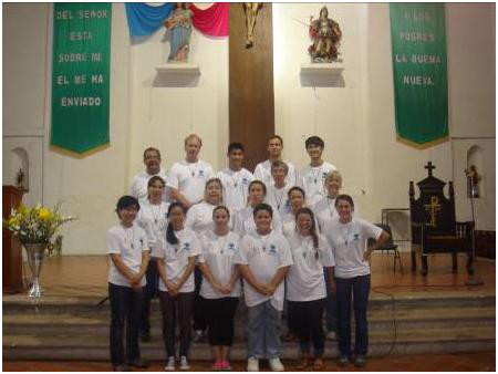 Catholic Missionaries medical team helping people in Mexico