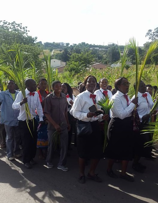 Palm Sunday Celebration in Malawi