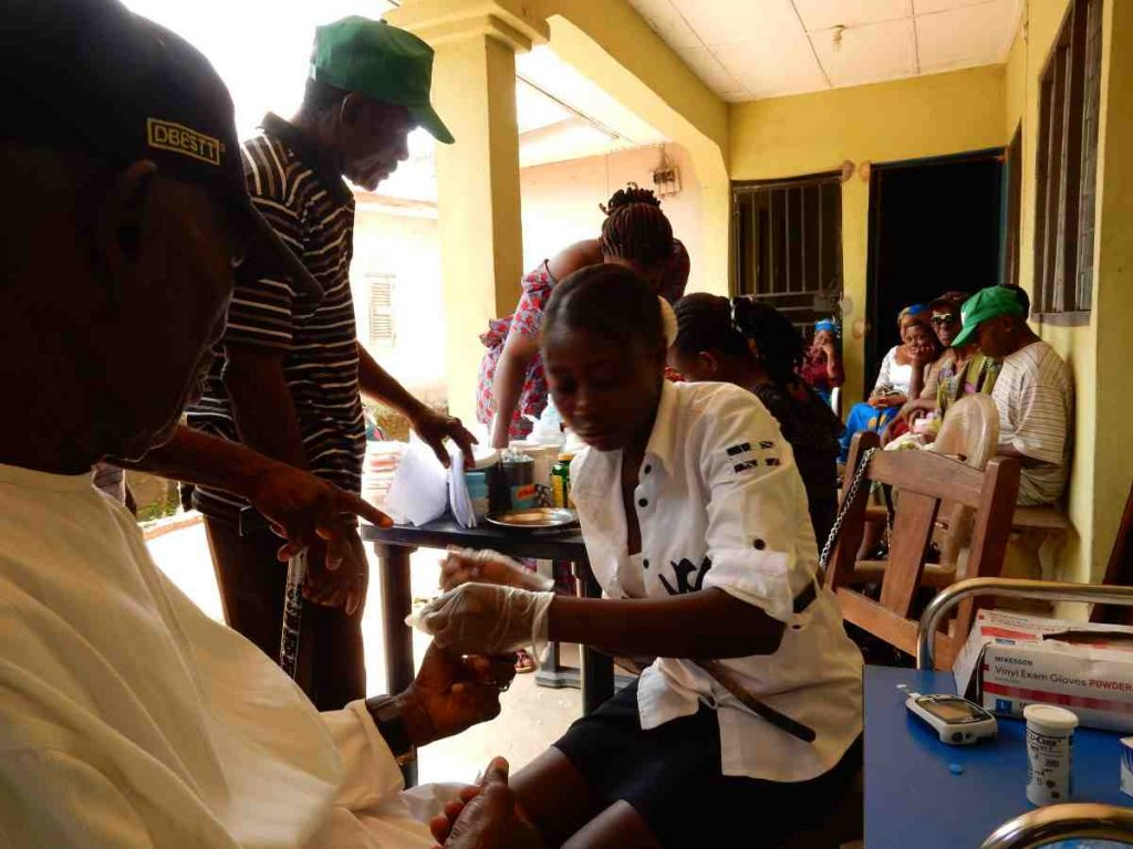 Medical Mission at a Catholic Church in Nigeria
