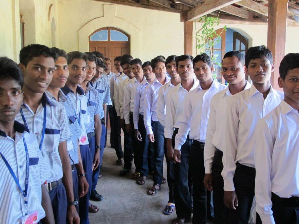 MSFS seminarians in India