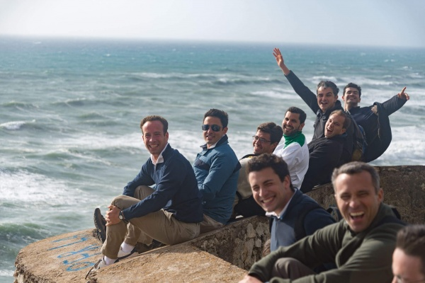 Legionaries of Christ seminarians studying in Rome - beach day