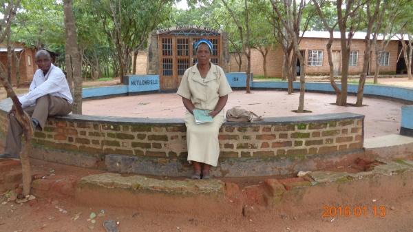 Anastazia Mwanja, participant from St. Michael\'s training - Malawi