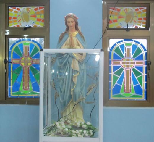 Church interior - Deacon Rick\'s trip - June 2018