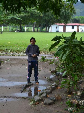 Children playing - Farm of the Child - Honduras