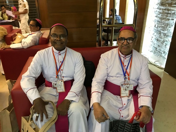 Bangladesh - Bishop Vincent Aind of the Diocese of Bagdogra, India and Bishop Cyprian Monis of the Diocese of Asansol, West Bengal, India.