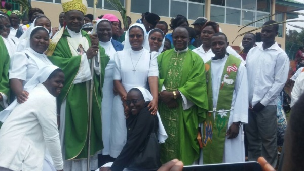 The grand opening of Our Lady of Lourdes Hospital - Cameroon